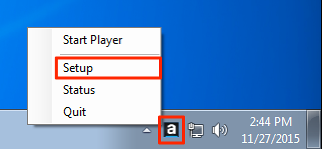 Configuring and Registering Appspace PC Player — Appspace Core v5 11