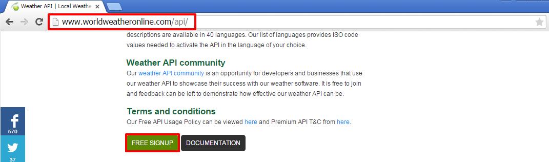Configuring Weather API via WWO — Appspace Core 5 2 documentation