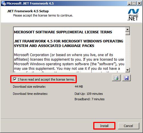 framework net 4.5 download