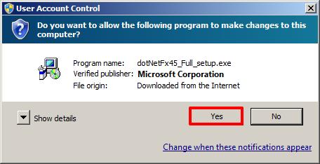 Microsoft  NET Framework 4 5 Installation — Appspace Core v5 7