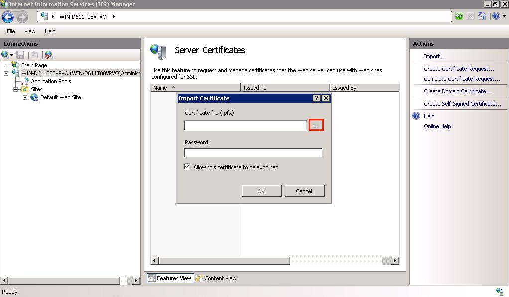 Ssl Configuration Appspace V60 Documentation