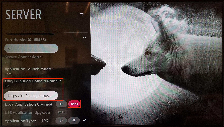 Installing the Appspace App on LG webOS — Appspace v6 2