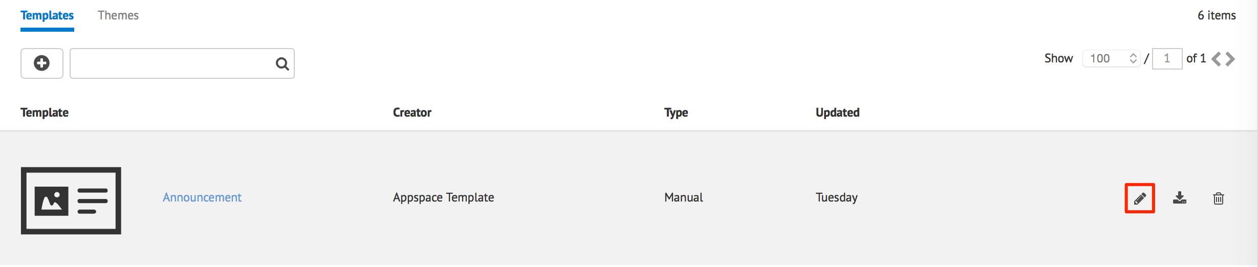 Adding A Card Template Appspace V6 3 Documentation