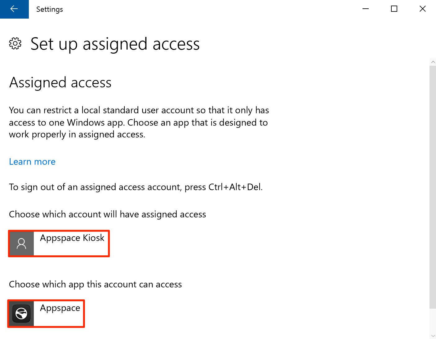 Install Appspace App on Universal Windows Platform — Appspace v7 0