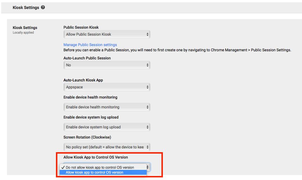 Install Appspace App on Chrome OS — Appspace v7 0 Documentation