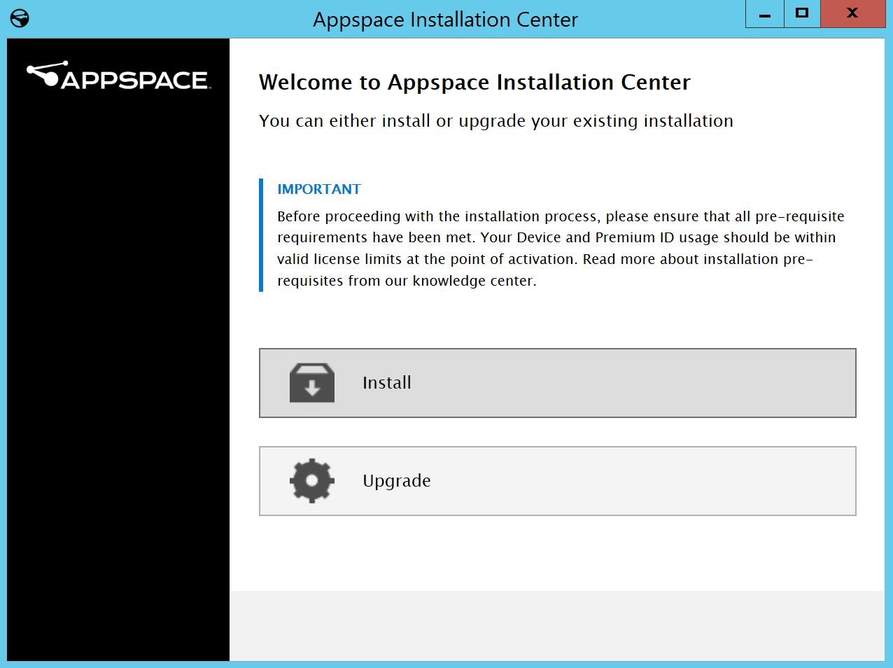 Install Appspace 7 0 on-prem — Appspace v7 0 Documentation