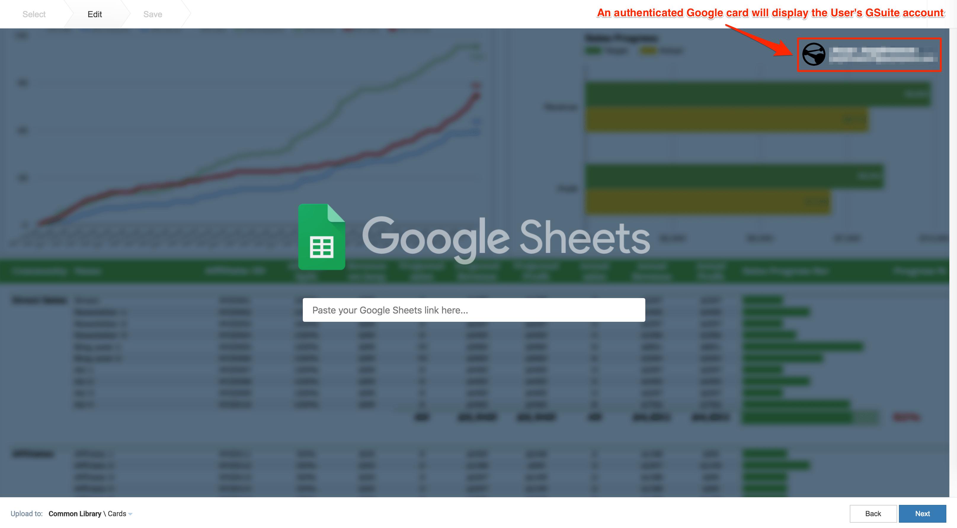 Create Google Slides/Google Sheets cards — Appspace v7 1