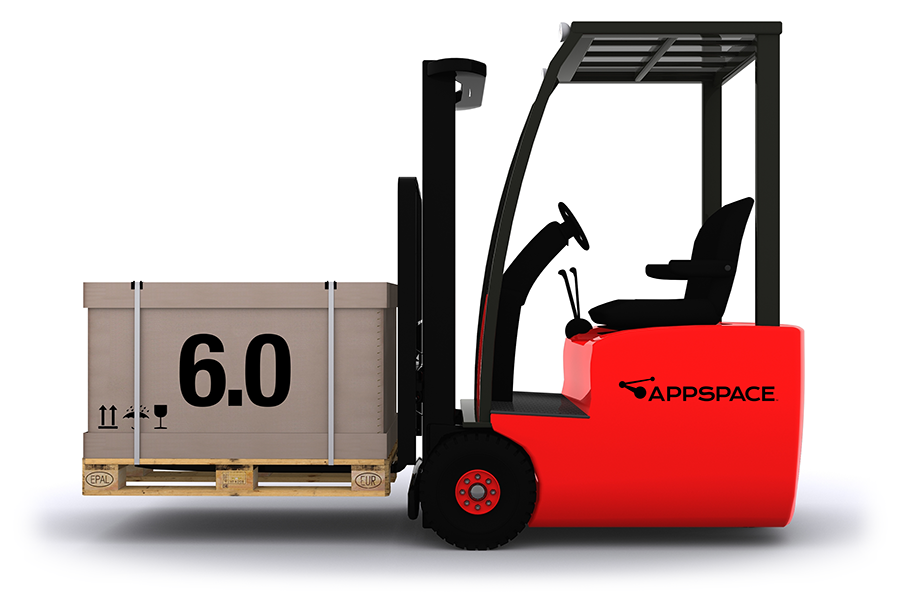 Appspace 6.0 Forklift