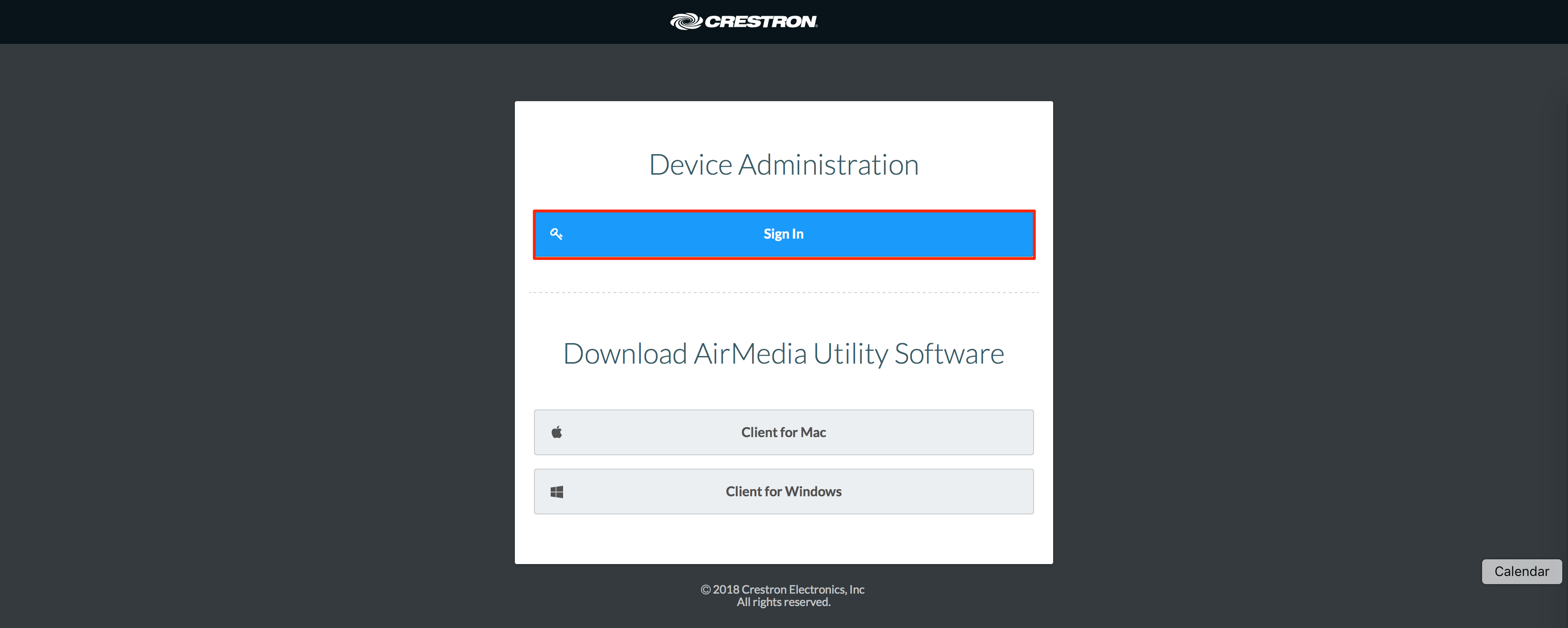Crestron Airmedia Mac Download